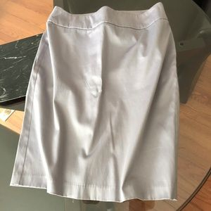 Marina Luna Dove Gray Pencil Skirt